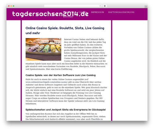 eyesite free WordPress theme - tagdersachsen2014.de