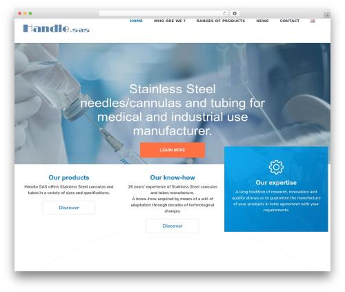 Theme BMS medical WordPress theme - handle.fr