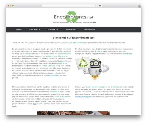 Vantage WordPress template free download - encombrants.net