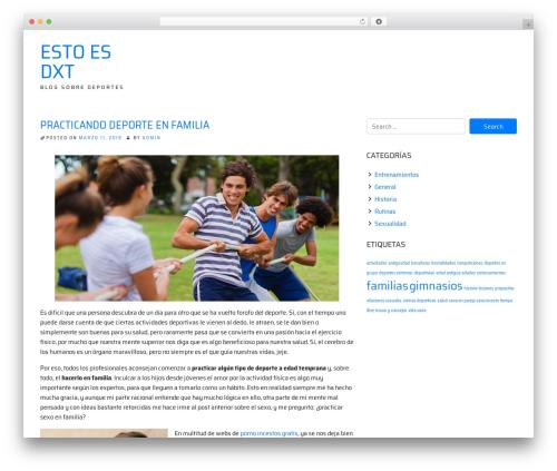 ioBoot WordPress blog theme - estoesdxt.es