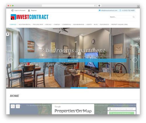 WordPress vc-twit-stream plugin - investcontract.com