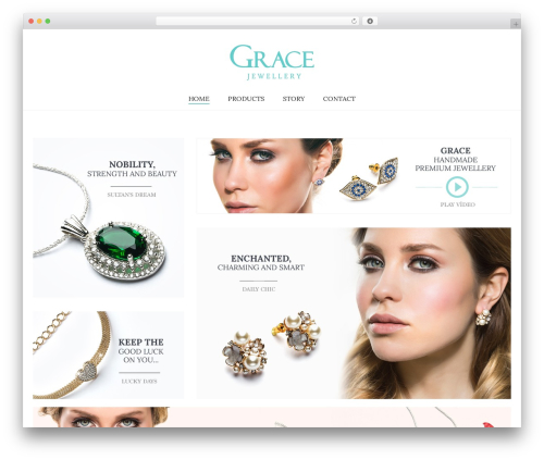 Aurum WordPress theme - grace-jewellery.com