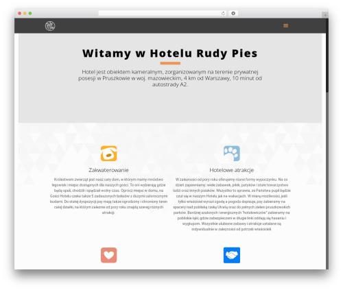 Betheme best hotel WordPress theme - rudypies.pl