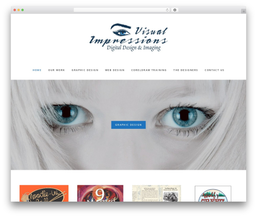 Gallery Pro top WordPress theme - visualimpressionsdigitaldesign.com