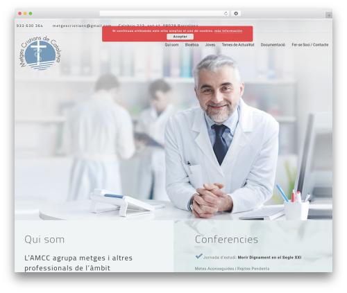 MedCare best WordPress theme - metgescristians.cat