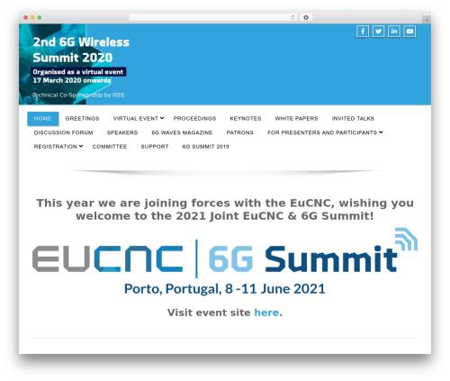 Enigma WordPress template free download - 6gsummit.com