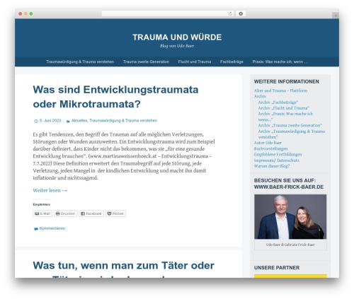 Theme WordPress Big Brother - trauma-und-wuerde.de