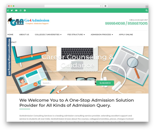 Free WordPress Travel Agency Companion plugin - go4admission.com