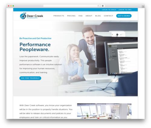 Divi theme WordPress - deercreektech.com
