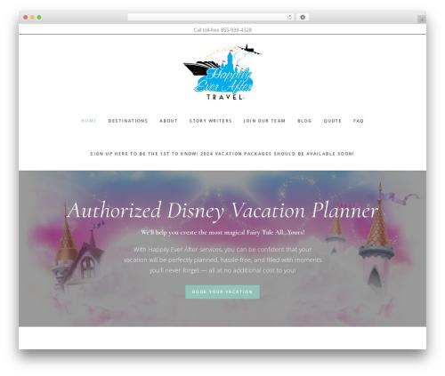 Gallery Pro WordPress template for photographers - happilyeveraftertravel.com