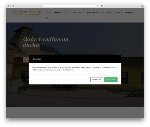 Holy Church gym WordPress theme - gsf.sk