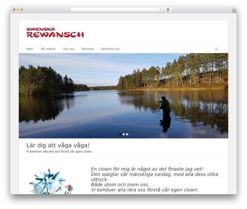 Template WordPress Catch Base Pro - swenskarewansch.se