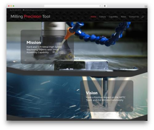 WordPress testify plugin - millingprecisiontool.com