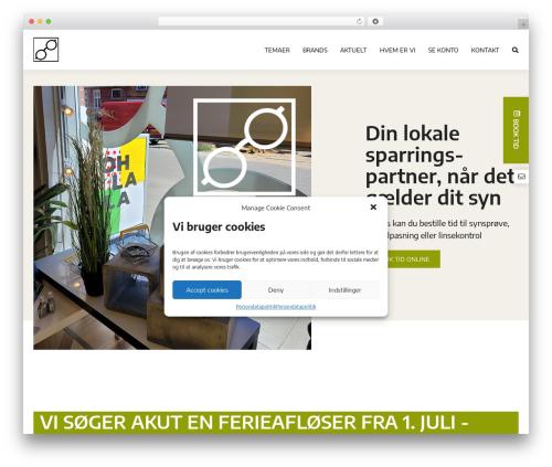 Template WordPress OnlinePlus Framework - brillemanden.com