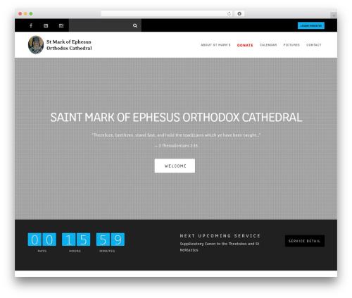 WordPress theme Church Suite - after-the-putin.com