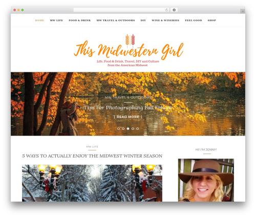 Activello WordPress theme - thismidwesterngirl.com