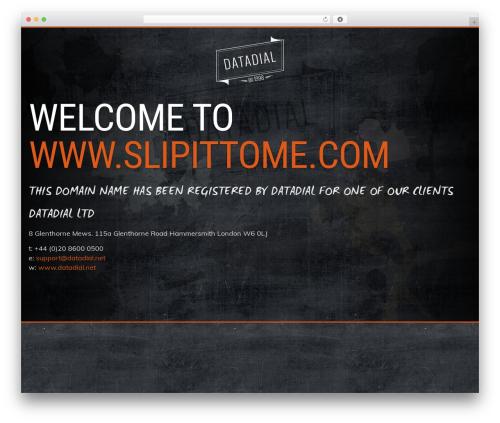 Best WordPress template Prima by datadial - slipittome.com