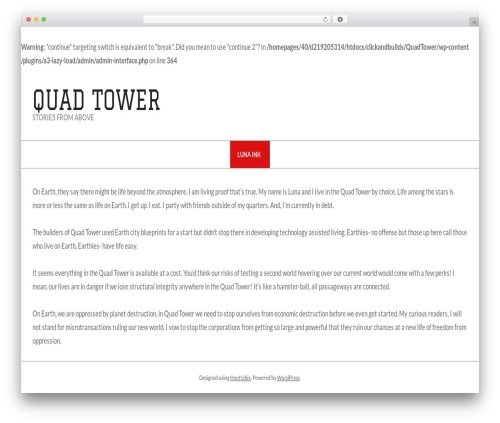 Hoot Ubix WP template - quadtower.com
