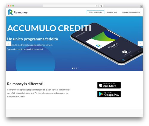 ReMoney WordPress theme - remoney.click