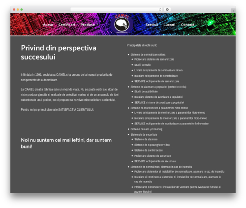 Revolution WordPress theme - canel.ro