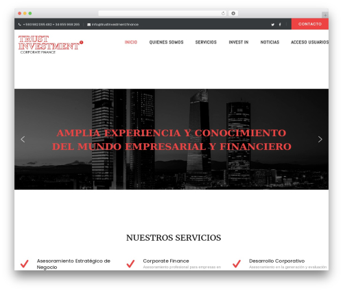Theme WordPress FO - trustinvestment.finance