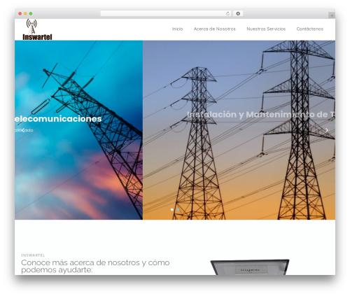 WordPress theme Portum - inswartel.com