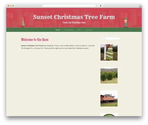 WP template Cheer - sunsetchristmastreefarm.com