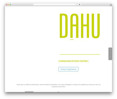 WP template Divi - dahu-creation.com