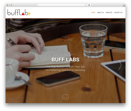 AccessPress Parallax WordPress template free download - buff-labs.com