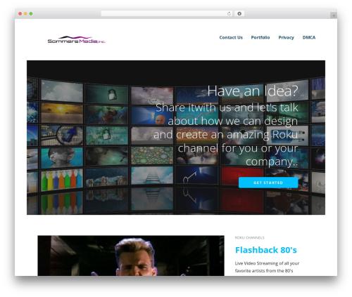 Ascension theme WordPress - sommersmediainc.com