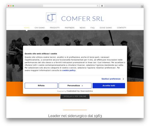 Avada template WordPress - comfersrl.com