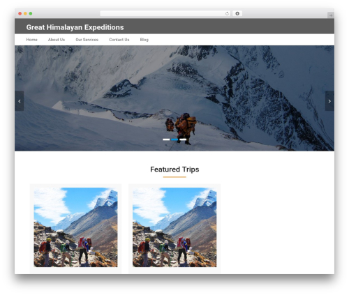 Best Business WordPress theme free download - greathimalayanexpeditions.com