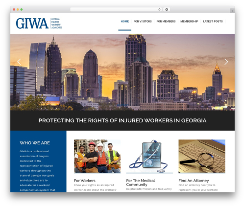 Best WordPress template Fusion - gaiwa.org