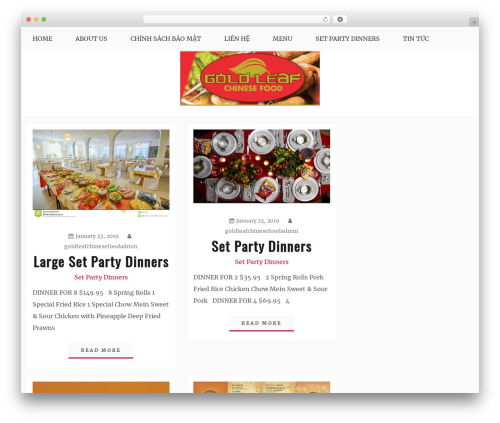 Blog New WordPress theme - goldleafchinesefood.com
