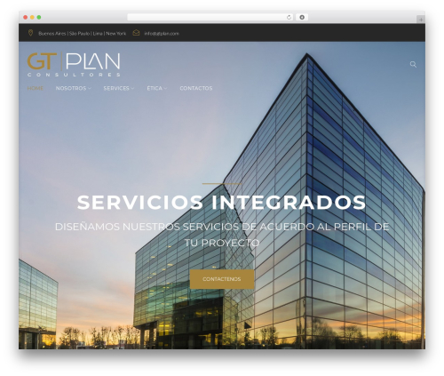 Contractor WordPress theme - gtplan.com