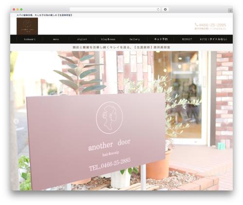 Emanon Business business WordPress theme - anotherdoor-fujisawa.com