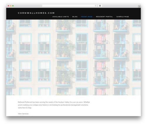 Encase template WordPress - cornwallhomes.com