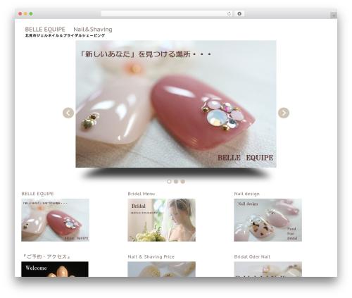 fBlogging template WordPress free - nail-belleequipe.com