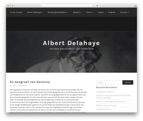 Lodestar WordPress theme - albertdelahaye.nl