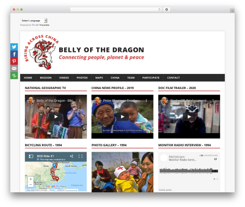 MH Magazine top WordPress theme - bellyofthedragon.com