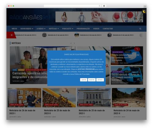 Free WordPress Custom Banners plugin - radioansiaes.pt