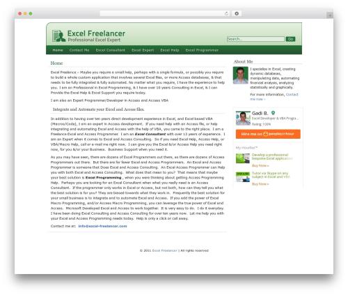 OfficeFolders WordPress theme - excel-freelancer.com