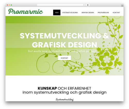 Template WordPress Book Club - promarmic.se