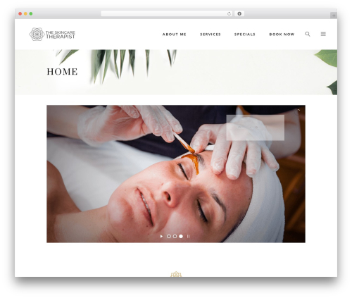 WordPress theme Aviana - theskincaretherapist.com