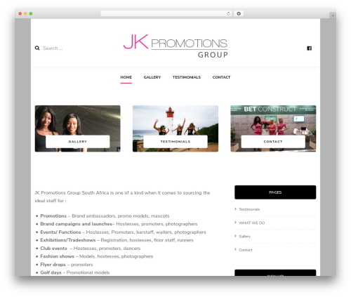 Free WordPress BlossomThemes Instagram Feed plugin - jkpromotions.co.za