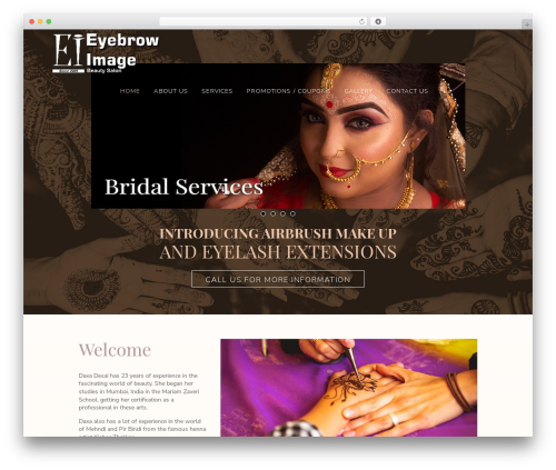 WordPress theme Custom Theme - eyebrowimage.com