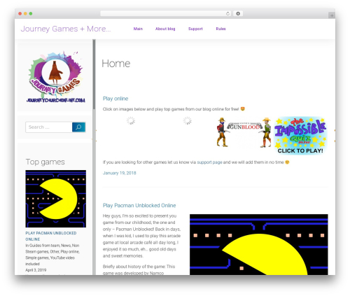 AMP - Accelerated Mobile Pages WordPress gaming theme - journeychurchonline.com