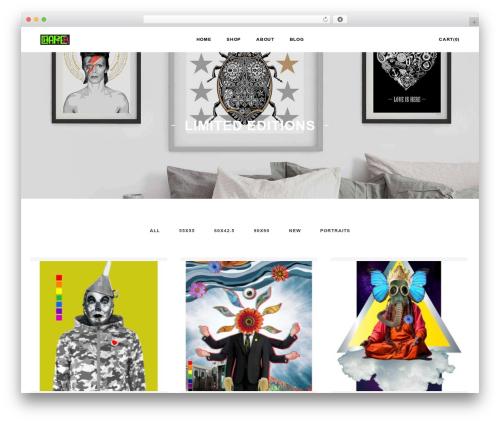 Artday best WordPress theme - chapter-art.com