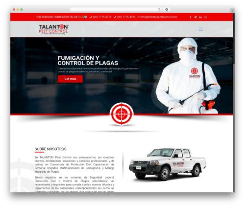 Betheme WordPress theme - talantonpestcontrol.com