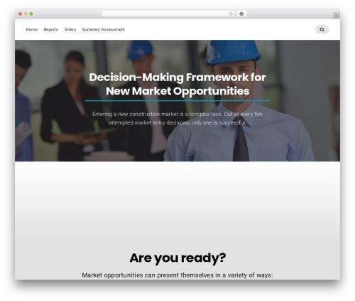 Businessx business WordPress theme - ciri-riskmitigation.org